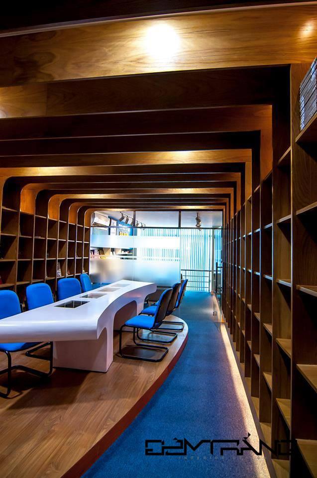 Thiết kế nội thất thư viện ĐH Văn Hiến 06