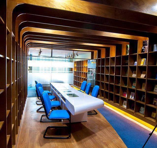 Thiết kế nội thất thư viện ĐH Văn Hiến 07