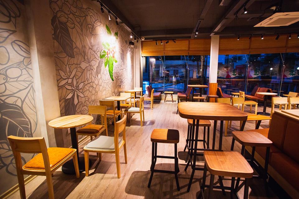 Thiết kế nội thất dự án The Cups Coffee 05