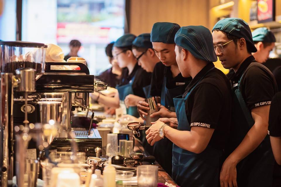 Thiết kế nội thất dự án The Cups Coffee 11